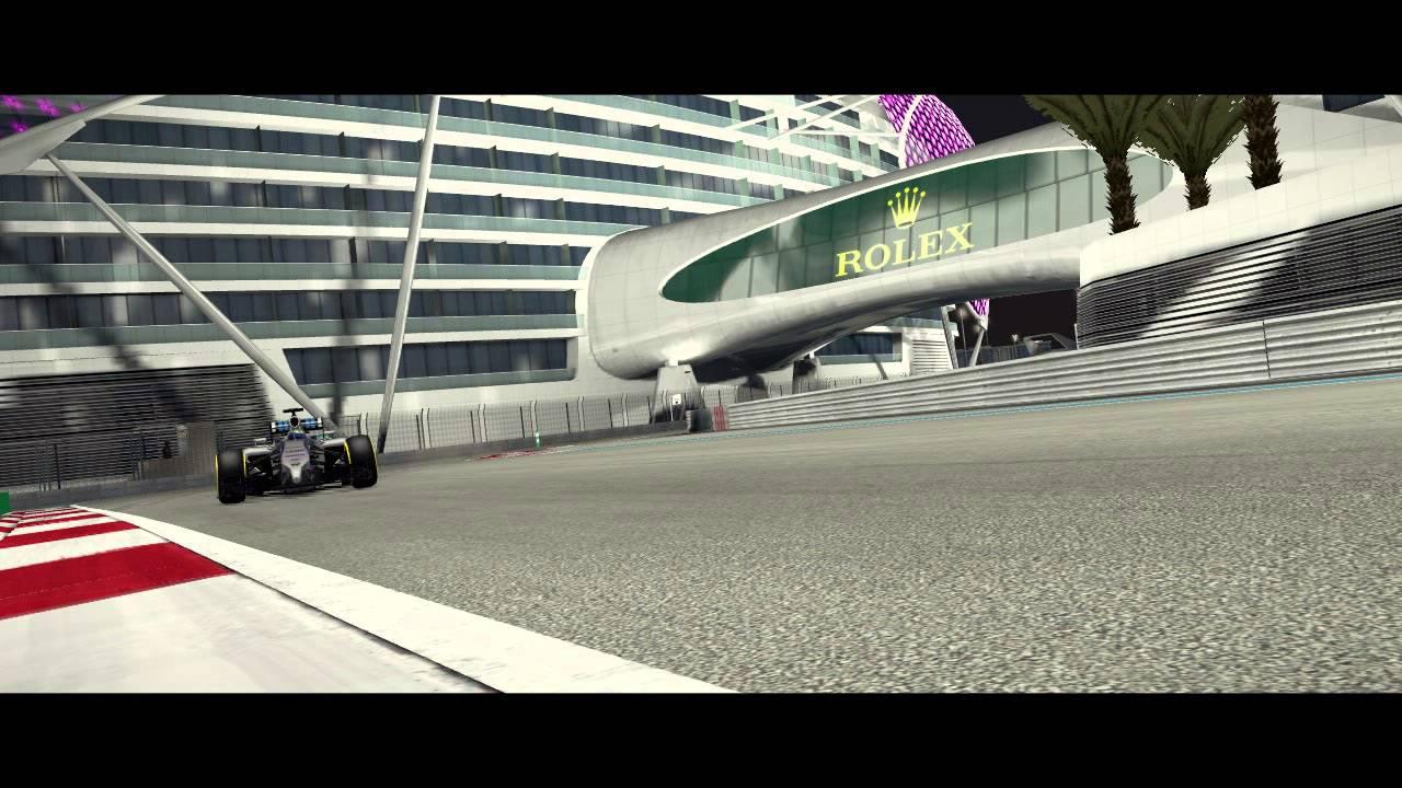 Il nuovo trailer di F1 2014 celebra l'ultimo weekend di gare della stagione