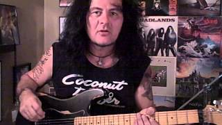 """""""Reign of Fire"""" (Armored Saint) solo guitar cover, featuring Jeff Duncan."""