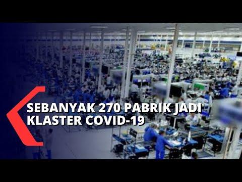 270 Pabrik Jadi Klaster Penyebaran Covid-19