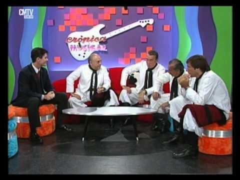 Los Chalchaleros video Entrevista  - Estudio CM 1996