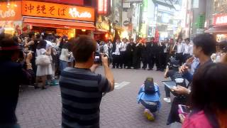渋谷に斎藤工が撮影で登場渋谷騒然イケメン