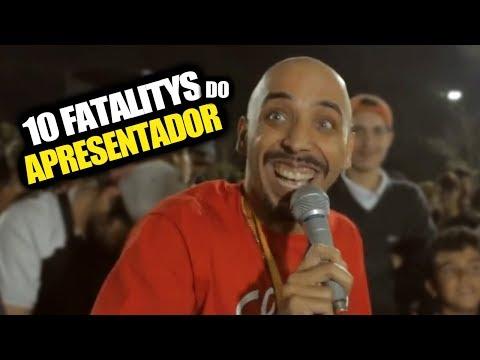 10 FATALITYS COMETIDOS PELO APRESENTADOR!