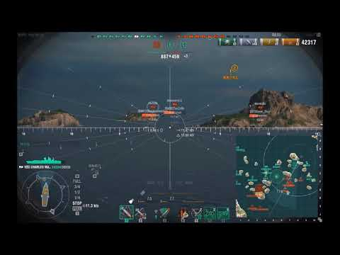 【WoWs】下手でも楽しい海戦ゲームPart642【CHARLES MARTEL】