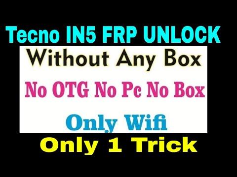 Tecno I5 IN5(Tecno Camon I) FRP 7 1 2 Unlock 100% - Музыка для Машины