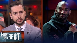 Nick Wright on losing Kobe Bryant: I don't think it's sunk in | FIRST THINGS FIRST | LIVE FROM MIAMI