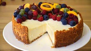 НАСТОЯЩИЙ ЧИЗКЕЙК НЬЮ-ЙОРК ☆ New York Cheesecake Recipe ☆ Марьяна