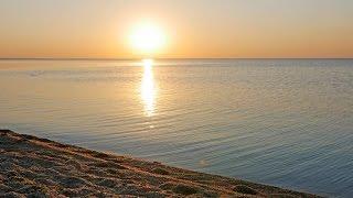 Море. Шум прибоя. Рассвет. Восход солнца. Звуки моря. Шум волн. Релакс. Медитация. Крым. Феодосия.