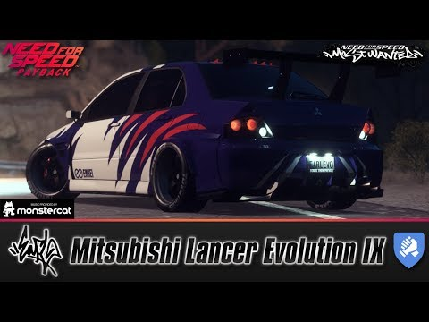 Need For Speed Payback: Earl's Mitsubishi Lancer Evolution IX Runner Build | LV399 | Agent James