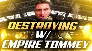Me & Empire Tommey Drop A Bomb On This Lobby! COD Warzone High Kill Win!