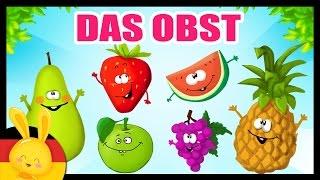 Das Obst auf deutsch lernen - German vocabulary - Fruits & vegetables - Titounis