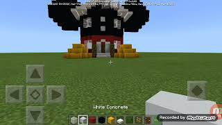 تعلم صنع منزل يشبه ميكي ماوس / Mimecraft