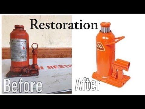 Hydraulic Car Jack || hydraulic jack Restoration
