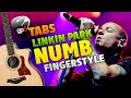 Linkin Park - Numb (Fingerstyle Guitar Cover, Tabs And Karaoke)