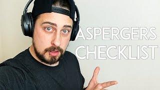 Aspergers Traits (Aspergers checklist)