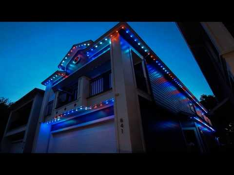 Permanent Exterior Lighting (Like Christmas Lighting) In Houston, The Woodlands, Conroe, and More
