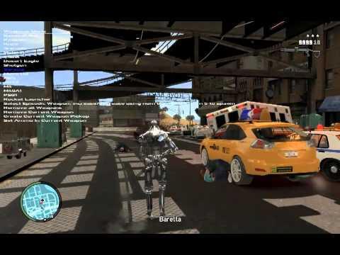 This GTA IV Terminator Mod Says 'Hasta La Vista, Bellic'