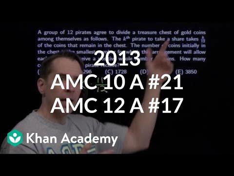 2013 AMC 10 A #21 / AMC 12 A #17 (video) | Khan Academy
