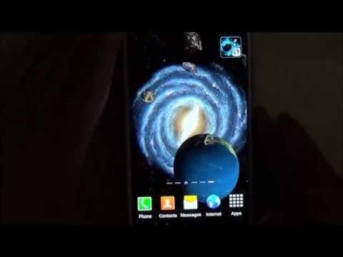 Video of 3D Galaxy Wallpaper