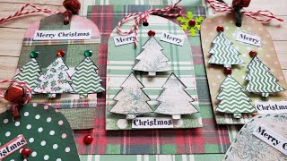 Christmas Gift Tags | Mindless Crafting