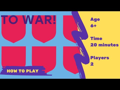 How to play To war! English