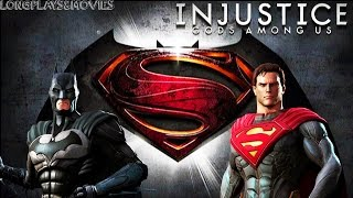 INJUSTICE GODS AMONG US  ULTIMATE EDITION  THE MOVIE  ALL CUTSCENES