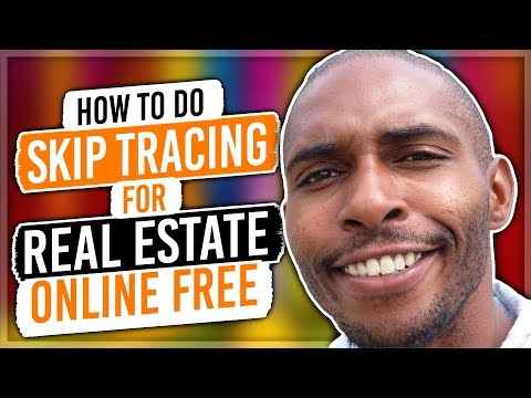 How to Skip Trace Online FREE | Wholesale Real Estate - YouTube