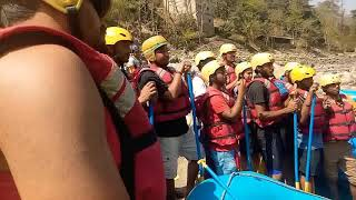 preview picture of video '#Nepal #white #water #rafting #safetytalk  #trishuli #river'
