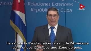 Bruno Rodríguez, canciller cubano en discurso ante la ONU (20 Sept 2020)