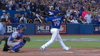Jose Bautista hammers go-ahead three-run shot in ALDS Game 5, delivers epic bat flip