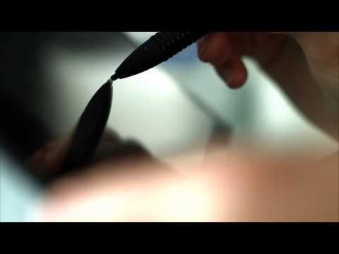 Callstel Aktiver Touchscreen-Eingabestift mit 2,4-mm-Spitze und Akku