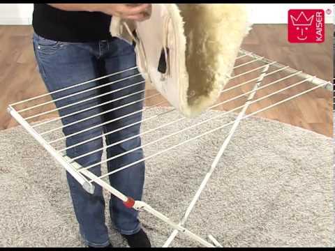 Vorschau: Lammfell Bürste von Kaiser - wieder flauschiges Babyfell