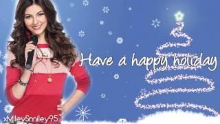Victoria Justice - Rockin' Around The Christmas Tree (with lyrics)