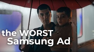 """The Worst Samsung Commercial: """"Moving On"""""""