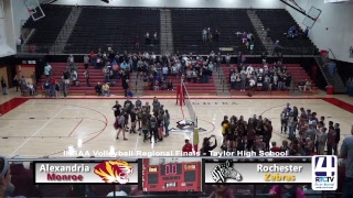 Regional Volleyball Finals - Rochester vs Alexandria Monroe