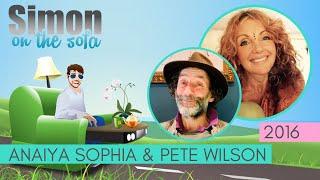 Simon on the Sofa with Anaiya Sophia and Pete Wilson
