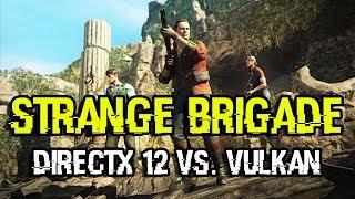 Strange Brigade: DirectX 12 vs. Vulkan (GeForce)