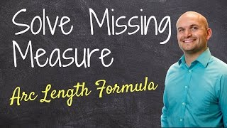 Find the sector length or angle using arc length formula