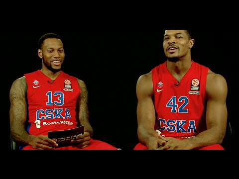 One-on-One: Sonny Weems & Kyle Hines, CSKA Moscow