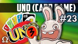 SILLY RABBIDS TEAM PLAY! (2VS2)   Uno Card Game #23 Ft. Mini, Jiggly, Kryoz