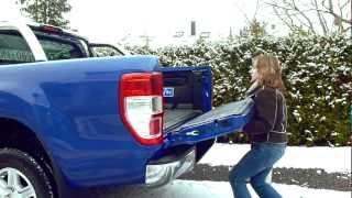 Tailgate Lift - Heckklappen Lift für Ford Ranger 2012, Toyota Hilux und VW Amarok