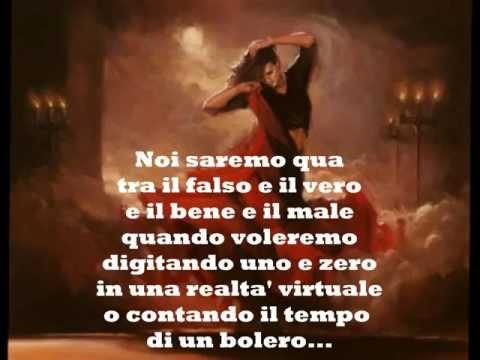 """, title : '""""Bolero"""", con testo (C. Baglioni)'"""