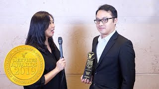 [Exclusive interview with Blockchain Solutions at Mediazone's HKMVC Services Awards in Hong Kong
