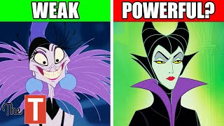 Who Is The Most Powerful Disney Villain