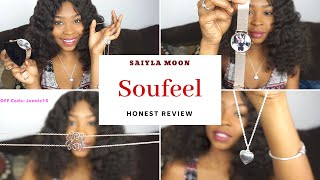 SOUFEEL Jewelry Review | Photo Locket Necklace, Choker Necklace , Photo Watch & Name Necklace!