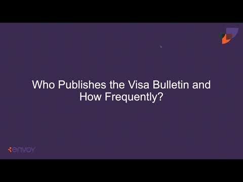 An Introduction to The Visa Bulletin - YouTube