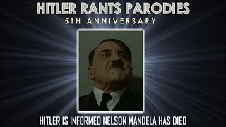 Hitler is informed Nelson Mandela has died