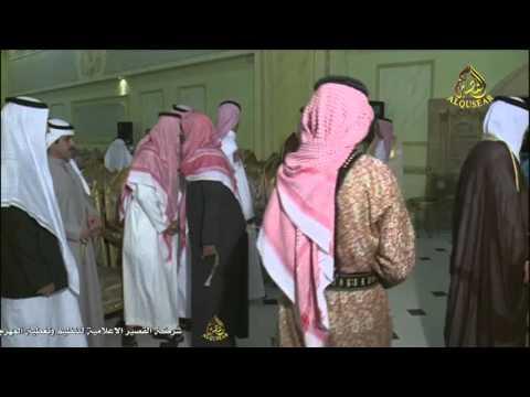 الشيخ عايض بن معتق بن خزام النفيعي وإخوانه وأبنائهم بمناسبة الشاب عبد الله عايض النفيعي