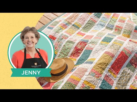 """Make a """"Boardwalk"""" Quilt with Jenny Doan of Missouri Star Quilt Co (Video Tutorial)"""