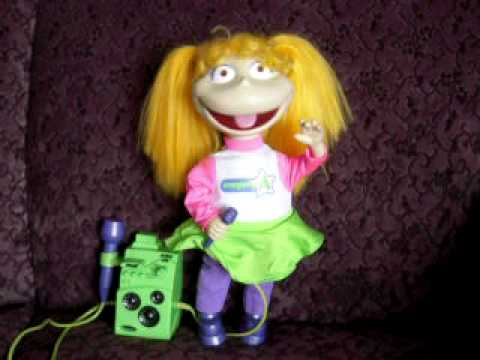 Talking Toys Part 2 Rugrats Sing Amp Swing Angelica Doll