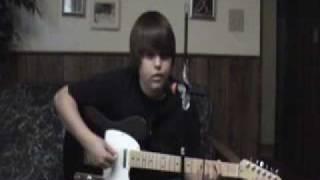Teddy Geiger - Bitter (guitar, bass,& vocal cover)